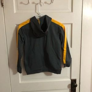 Puma Shirts & Tops - Puma Zip Up Gray Yellow Boys 7